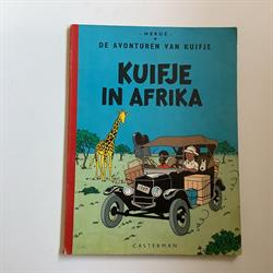 Kuifje: in Afrika