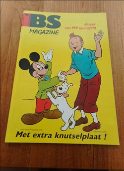 Brabant Strip magazine-Nr 172 (2009)-Cover : Kuifje en Mickey -Walt Disney productions