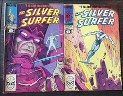 The Silver Surfer 1 en 2 - Sc - weekblad - 1e druk - (1988/1989)