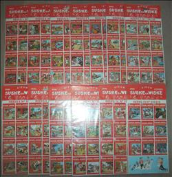 Suske en Wiske Mini Covers  Volledige Reeks  13 Sticker Vellen  Alle Covers 67-128