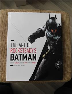 The Art of Rocksteady's Batman - HC - Luxe Boek + Stofomslag