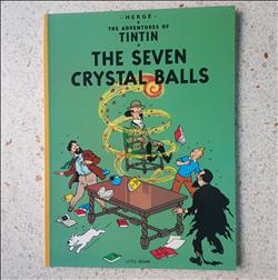 kuifje buitenlandse uitgaven - Tintin - the seven crystal balls - engels- sc