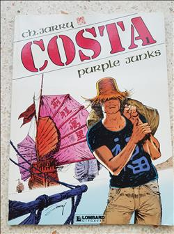 costa - purple junks- sc - 1e druk