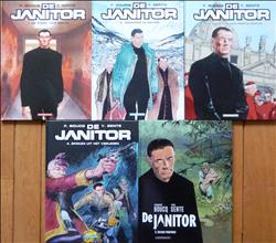 De Janitor 1 t/m 5 - complete serie - hc - (2007/2017)
