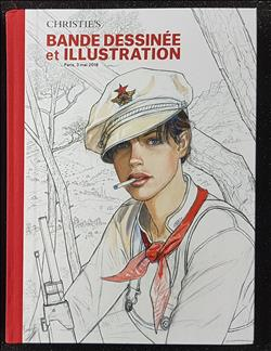 Catalogus Bande dessinée et illustration - Christies Mei 2018