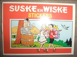 Sticker Suske en Wiske / Introdukt Stickerboekje met stickers en spelletjes.