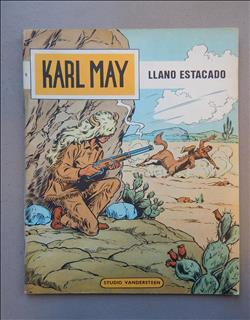 Karl May 6. Llano Estacado. sc. 2e druk.