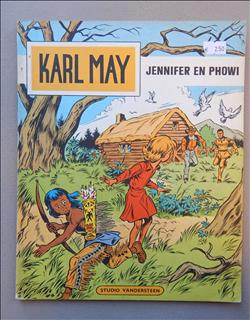 Karl May 7. Jennifer en Phowi. sc. 2e druk.