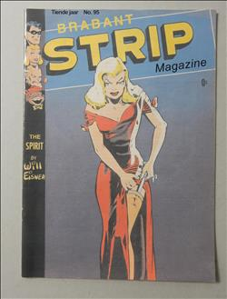 Brabant strip magazine 95 stripinfo Will Eisner - Jan Bosschaert