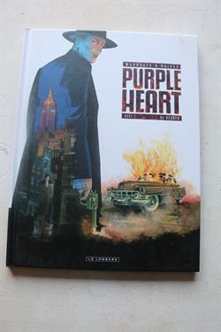 Hardcover : Purple Heart 1 : De redder 1e druk 2017