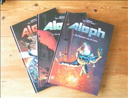 Aleph ~ Complete serie hardcover 1 t/m 3