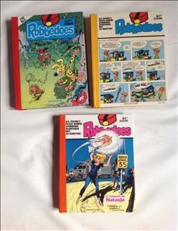 Robbedoes albums - Nrs 162, 163, 164 - hc - 1981/1982