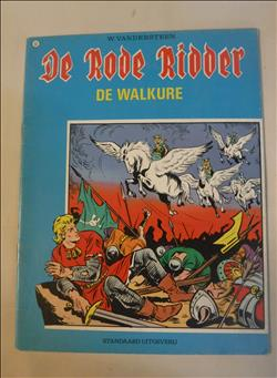 De rode ridder - 63 - De Walkure - 3de druk 1976