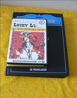 Lucky Luke - 2 hardcovers en 3 DVD's.