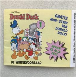Oude Donald Duck strip uitgave bros/nuts lion