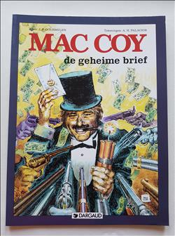 Mac Coy - De geheime brief (19) - 1x SC - Dargaud - 1e druk - 1995