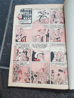 Morris Lucky Luke - Caesar Sigaret Dr Doxey ca. 1950 knipsels Robbedoes