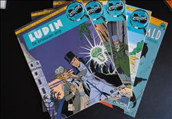 Arsène Lupin - Collectie Detective Comics  nrs 2/7/12/21/28
