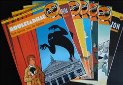 Rouletabille - Collectie Detective Comics - nrs 3/7/10/14/22/25/33