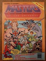 Masters of the universe nr. 1 - sc - 1e druk - 1986.