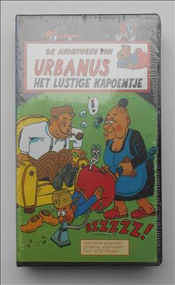 Urbanus -  Het Lustige Kapoentje - Willy Linthout - VHS video - Enjoy Benelux(1995)