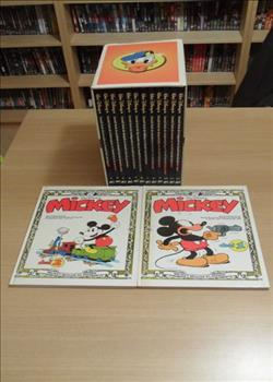 Donald Duck AD Collectie - 12 uitgaven in box + Mickey Mouse Klassiek nr 1 + 2 - 14xhc - 1e druk (1986/2009)