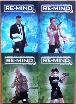 Re-Mind 1 t/m 4 - hc - complete serie - (2012/2014)