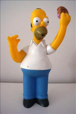 The Simpsons - Quick figuurtje - Homer Simpson - 2000