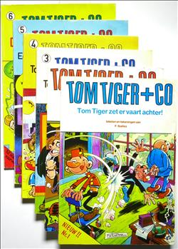 Tom Tiger + Co deel 1-6