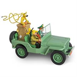 Robbedoes - Spirou Jeep Wyllis MB Figures et Vous 266 ex.