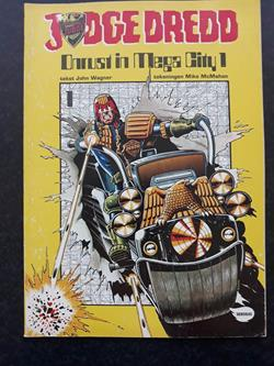 Judge Dredd	Nr.01	Onrust in mega city 1	1982	1e druk	SC