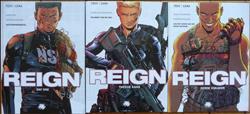 Reign 1 t/m 3 - complete serie - hardcover - (2011/2012)
