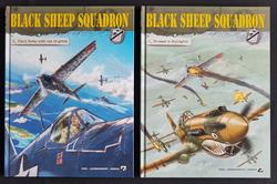 Black Sheep squadron  - De naam is Boyington / Black Sheep komt van de grond - deel 1 en 2  - hc - 2020