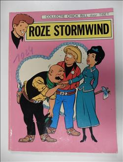 Collectie Chick Bill   Roze stormwind 1968