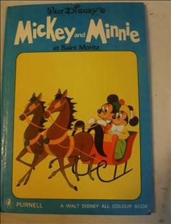 Mickey and Minnie at Saint Moritz - Walt Disney all colour book - 1ste druk 1969