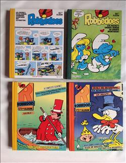 Robbedoes albums - Nrs 163, 166, 171, 172 - hc - 1982/1984