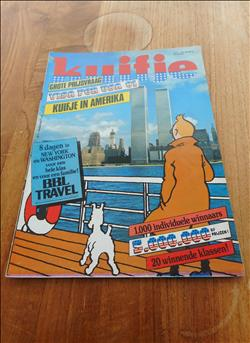Weekblad Kuifje nr.4- Cover Hergé- Twin Towers New York -34 ste jaargang 1979 +Poster Kuifje