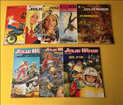 Julie Wood 1 t/m 8 SC. 1e druk.