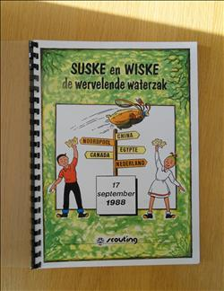 S&W – De wervelende waterzak (instructieboek) + tekst diaserie.
