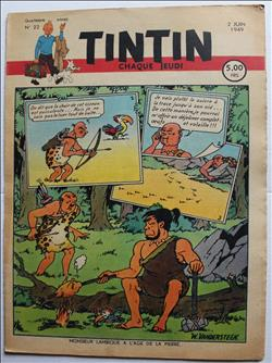 weekblad Tintin / Kuifje - 4° jaargang nr. 22 - Willy Vandersteen - 1949