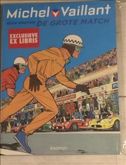 Michel vaillant - de grote match, HC