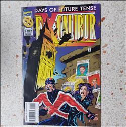 US-comics -Excalibur -days of future tense- comic