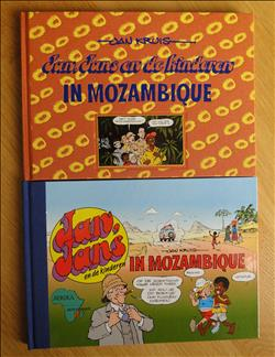 Jan Jans en de kinderen in Mozambique   –  2x hc.