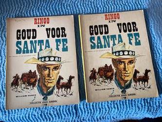 Collectie Jong Europa; Ringo in Goud voor Santa Fe William Vance, Van der hout&co 1967