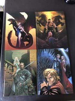 Game of Thrones -Nrs. 1 t/m 12 - compleet - Dark Dragon - HC - 1ste druk en tweede druk (2013/2015)