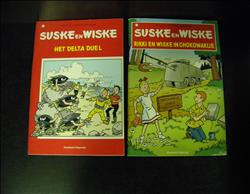 Suske & Wiske 2x A5 uitgave sc