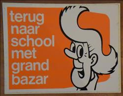 Suske en Wiske / Willy Vandersteen - Sticker - Sidonia - Grand Bazar - 1973
