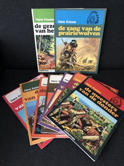Indianenreeks 1 t/m 9 - Compleet - Softcover - 5 x 1ste druk - (1974/1982)