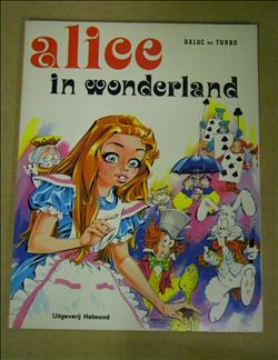 Alice in wonderland - 1e druk sc