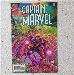 Us comic - captain marvel- april 1996-comic